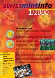 2000/1 Die Fasnacht der Basler (PDF, 534Kb) - Swissmint
