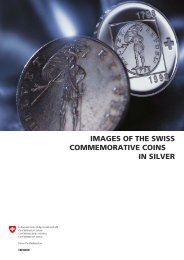 images of the swiss commemorative coins in silver - Swissmint