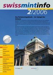 Das Parlamentsgebäude – der Spiegel der Schweiz - Swissmint