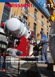 2011/1 Zum 100. Geburtstag von Max Frisch (PDF, 708Kb) - Swissmint