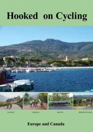 Hooked on Cycling - Cycling Holidays in Europe