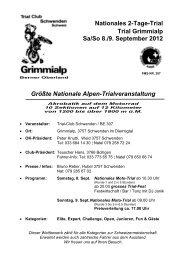 Größte Nationale Alpen-Trialveranstaltung Nationales 2-Tage ... - FMS