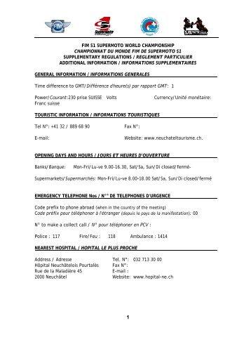 Sonderreglement-WM-Supermoto-Lignieres.pdf - FMS