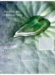 Lesen Sie hier den gesamten Artikel - Swiss Nano Cube