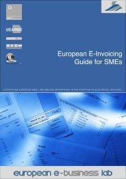 European E-Invoicing Guide  for SMEs - European Business Lab