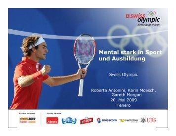 Mental stark in Sport und Ausbildung - Swiss Olympic