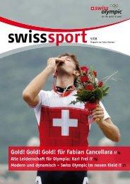 swiss sport 5/08 - Swiss Olympic