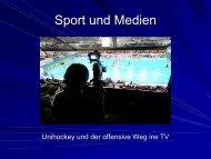 Sport und Medien - Swiss Olympic