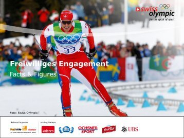 Freiwilligen-Engagement - Swiss Olympic