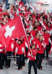 Sport ist unsere Faszination. - Swiss Olympic