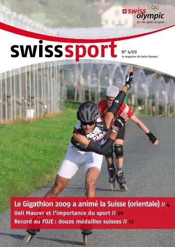 dans nos 80 établissements AMAG RETAIL en ... - Swiss Olympic