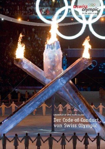 Der Code of Conduct von Swiss Olympic