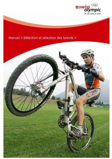 Manuel « Détection et sélection des talents » - Swiss Olympic