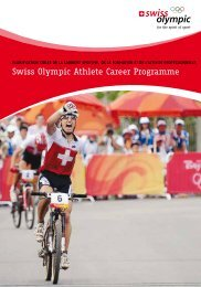 Swiss Olympic Athlete Career Programme