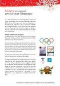 Publicité et RP en rapport avec les Jeux Olympiques - Swiss Olympic - Page 3