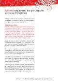 Publicité et RP en rapport avec les Jeux Olympiques - Swiss Olympic - Page 7