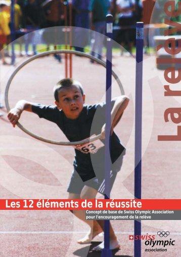 L'encouragement de la relève - Swiss Olympic