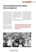 L'encouragement de la relève - Swiss Olympic - Page 5