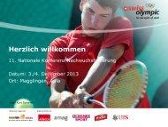 Bundesamt für Sport - Swiss Olympic