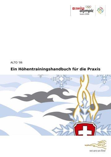 Ein Höhentrainingshandbuch für die Praxis - Bundesamt für Sport ...