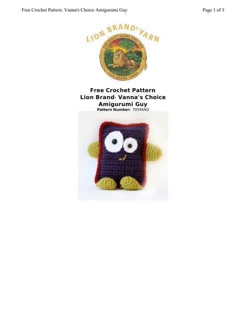 Crochet Lion Amigurumi Pattern - Free - Ami Amour   640x495
