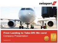Company Presentation - Swissport