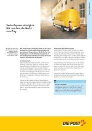 Swiss-Express Â«Innight - Die Schweizerische Post
