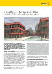 Le projet Genève – Cornavin profite à tous Immobilier Poste – votre ...