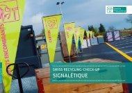 SignalétiqUe - Swiss Recycling
