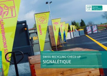 SignalétiqUe - Swiss Recycling