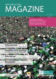Magazine No. 3, mai 2013 (pdf, 1452.3KB) - Swiss Recycling