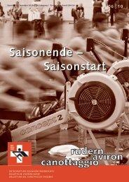 rudern-aviron-canottaggio 6/2010 (Dez. 10) - Schweizerischer ...