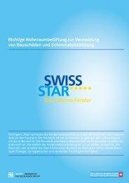 Richtige Wohnraumlüftung - Swissstarfenster.ch