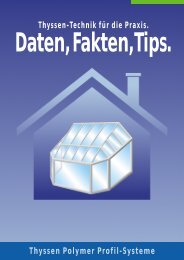 Daten, Fakten, Tips zu Ihrem Wintergarten - Swissstarfenster.ch
