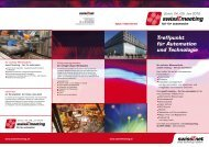 Treffpunkt für Automation und Technologie - swissT.meeting.ch