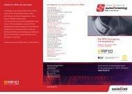 Die RFID Fachtagung mit Ausstellung - swissT.meeting.ch