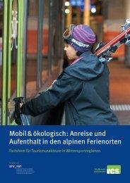 Factsheet für Tourismusakteure in Wintersportregionen - Schweizer ...