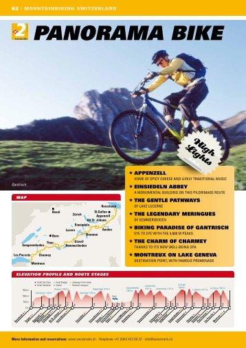 PANORAMA BIkE - SwissTrails