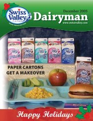 December 2005 - Swiss Valley Farms