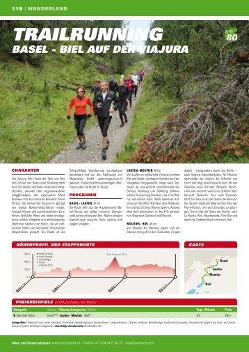 trailrunning - SwissTrails