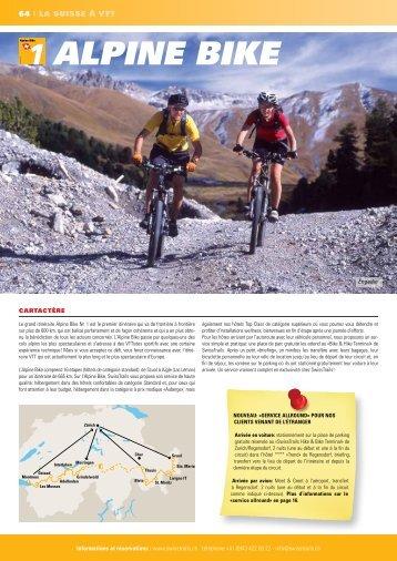 aLpine BiKe - SwissTrails