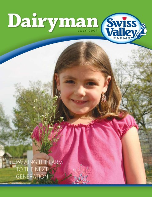 July 2007 - Swiss Valley Farms