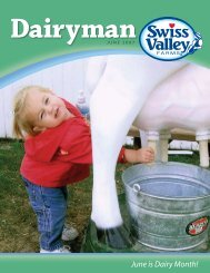 June is Dairy Month! - Swiss Valley Farms