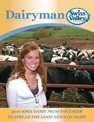 2010 Iowa DaIry PrIncess eager to sPreaD the - Swiss Valley Farms