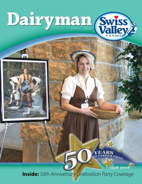 Inside: 50th Anniversary Celebration Party Coverage - Swiss Valley ...