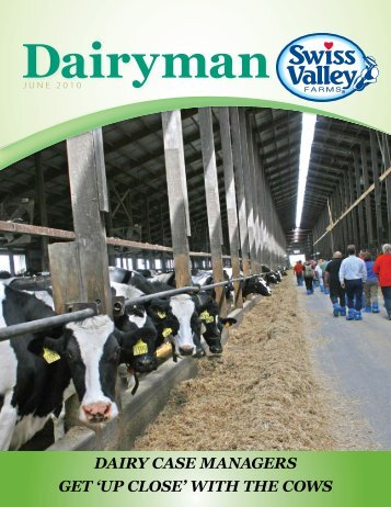 dairy case managers get 'up close' with the cows - Swiss Valley Farms