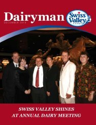 dECEMBER 2010 - Swiss Valley Farms