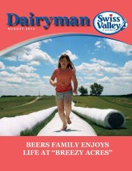 August 2012 - Swiss Valley Farms