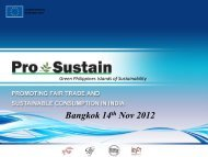 Sustainable Consumption - SWITCH Asia
