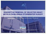 Absorptive Removal of Selected Heavy Metals from Urban ...